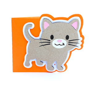 baby cat card