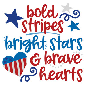 bold stripes brave hearts