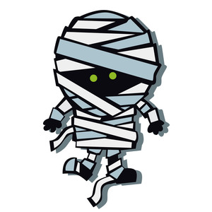 break dancing mummy