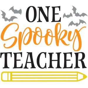 one spooky teacher
