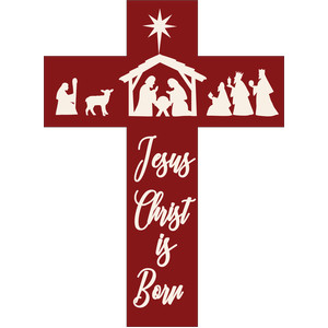 jesus christ is born cross