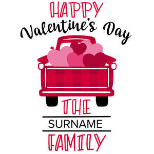 happy valentine's day family