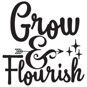 grow & flourish arrow quote