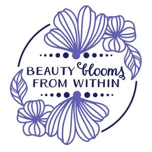 beauty blooms from within