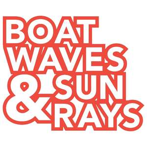 boat waves & sun rays