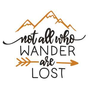 not all who wander phrase