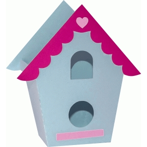 3d bird house bag
