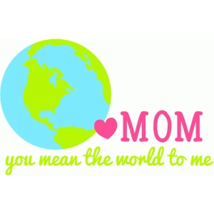 world mom