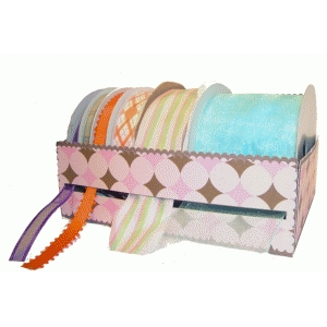 large ribbon spool organizer
