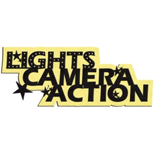 phrase: lights, camera