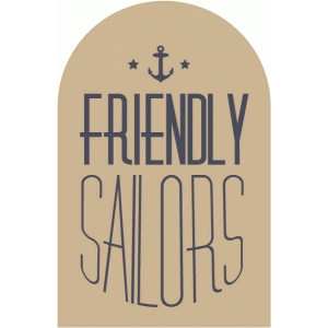 friendly sailors