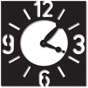 background_square clock