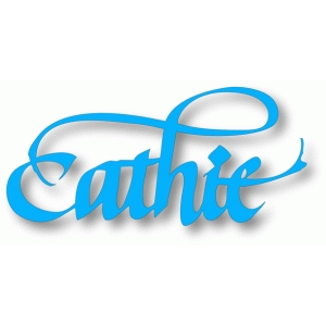 cathie - calligraphy