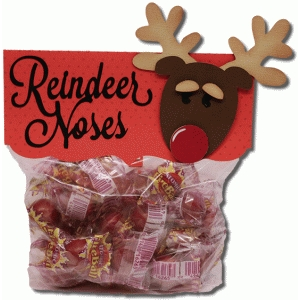 reindeer nose bag topper