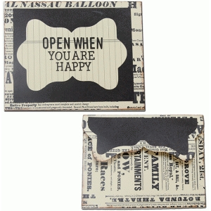 open when-you are happy envelope