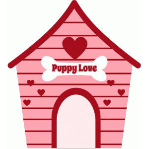 valentine dog house