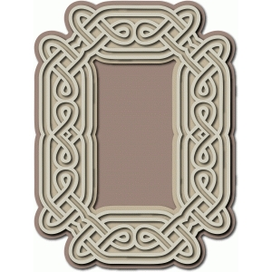 celtic frame cutout