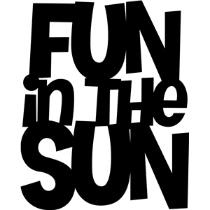 'fun in the sun' phrase