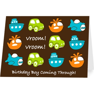 boy birthday card