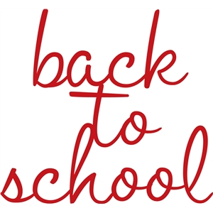 'back to school' phrase