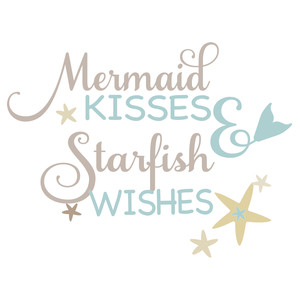 mermaid kisses - starfish wishes