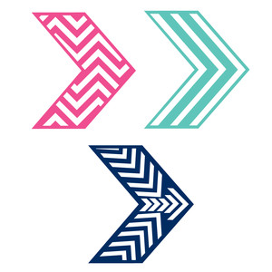 chevron patterned chevrons