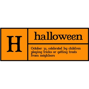 h is for halloween pc