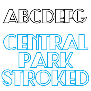 zp central park stroked