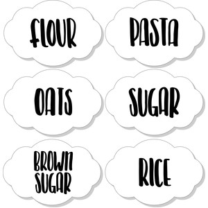 pantry food labels