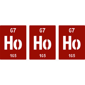 periodic table ho ho ho