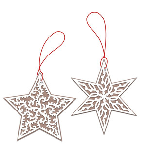 star gift tags or ornaments