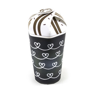 heart chain treat cup