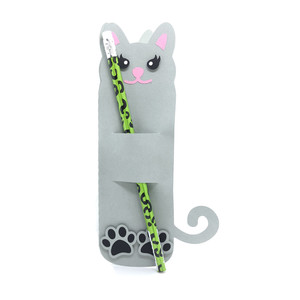 pencil holder cat card