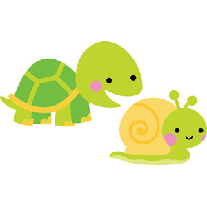 turtle and snail - so much pun