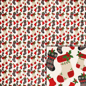 christmas stockings background paper
