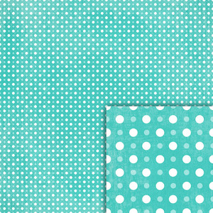 blue polka dot background paper
