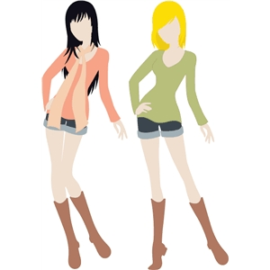 Paper Doll Clothes Set 2