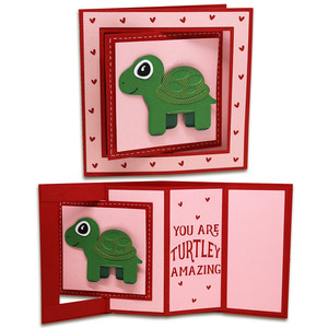 turtle window lever card