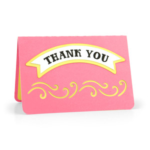 gift card holder thank you