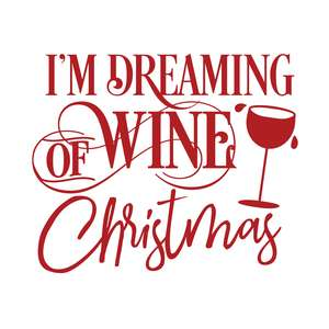 dreaming of wine christmas
