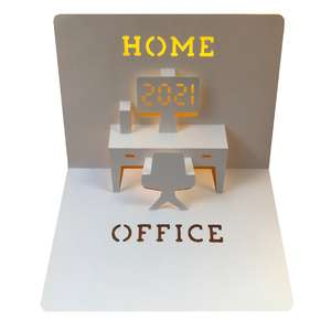 home office 2021 popup card