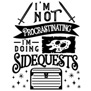 I'm not procrastinating