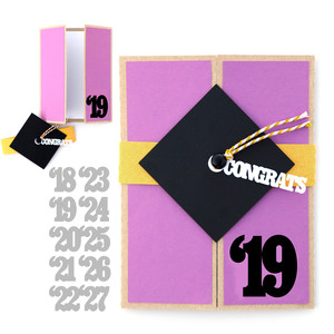 lori whitlock gate fold graduation card
