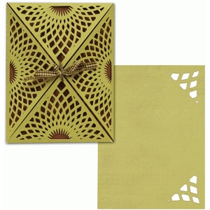 a2 card wrap set: sunburst lace