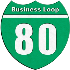 traffic signs - business loop