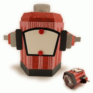 3d fire hydrant bottle cover