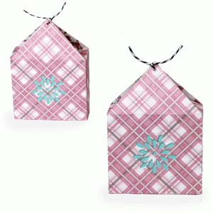 triangle gift bag