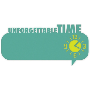 thought bubble 'unforgettable time'