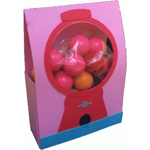 gumball machine treat bag