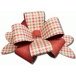 3d large gift package bow